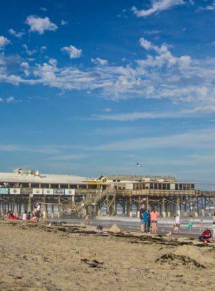 Cocoa Beach Pier, Cocoa Beach, FL, January 2014.